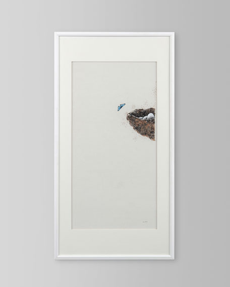 "Ja Ding's ""Simply Nature"" Framed Art Print on Canvas"