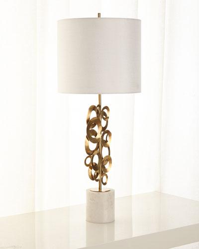 Brass Buffet Lamp