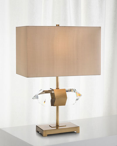 Mounted Crystal Accent Lamp
