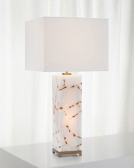 Calcite Table Lamp