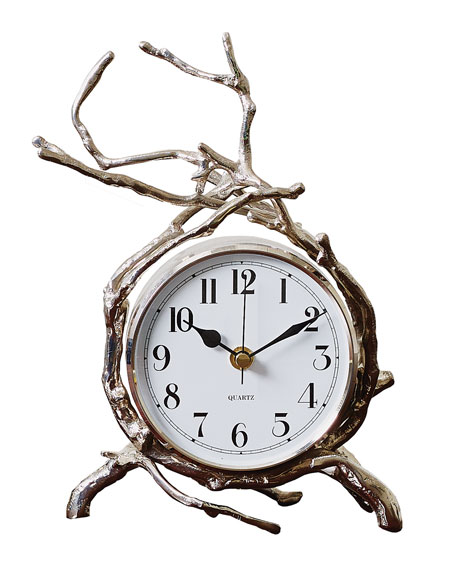 Twig Nickel Clock