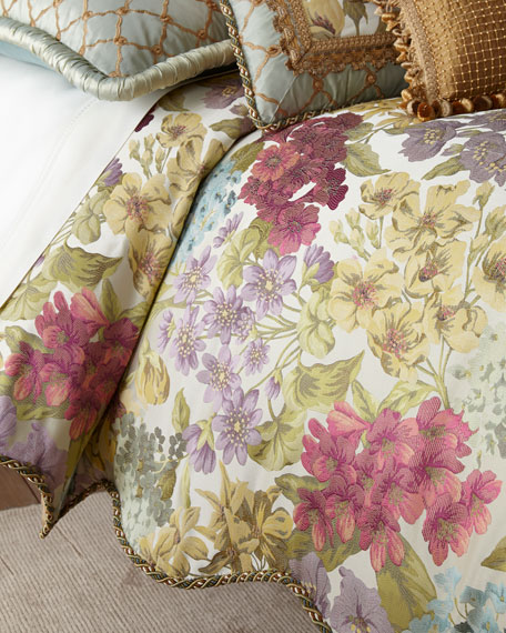 Giverny Floral Queen Duvet