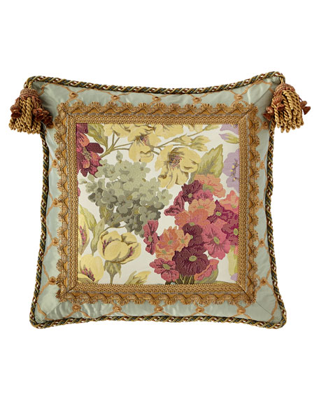 Giverny Boutique Pillow with Tassels
