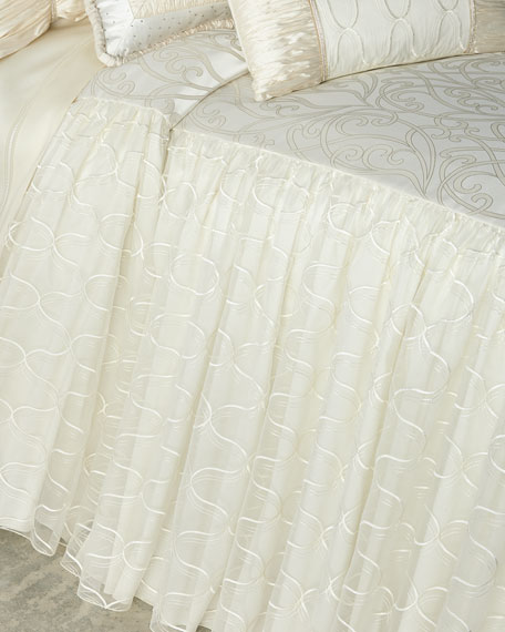 Wedding Bliss Queen Coverlet