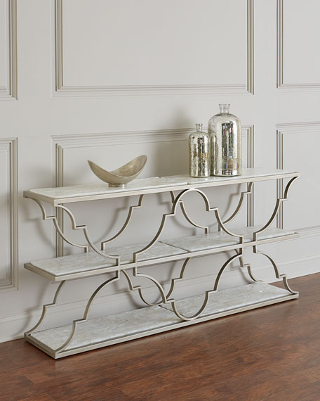 Reggie 3-Tier Console Table