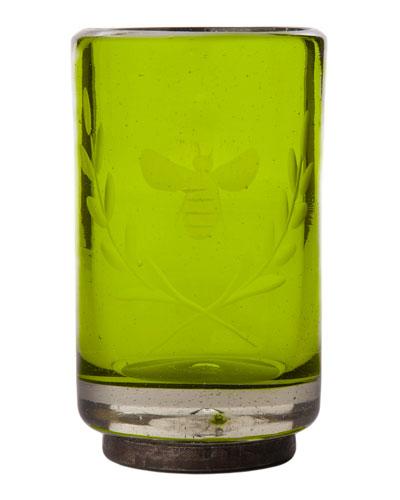 Wee-Bee Vessel Shot Glass  Green