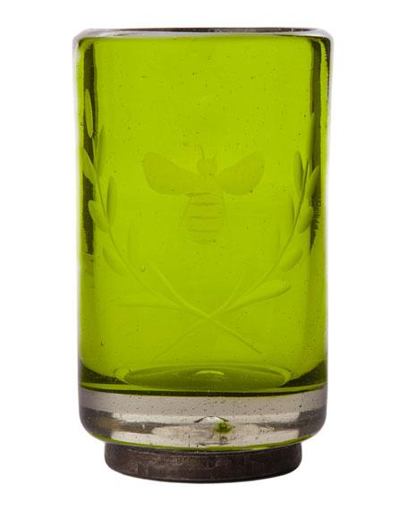 Jan Barboglio Wee-Bee Vessel Shot Glass, Green