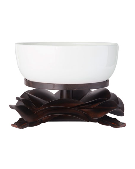 Rosa Laurel Bowl