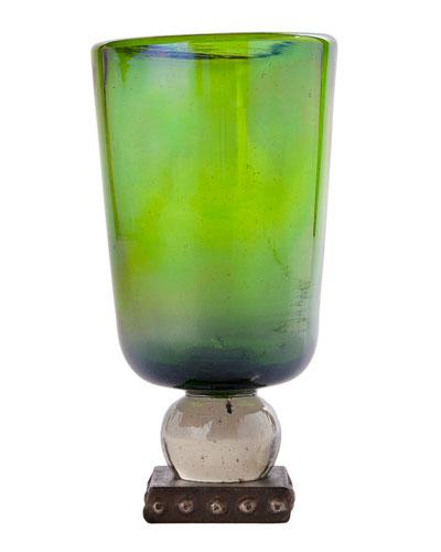 Ramo Oversize Goblet  Green