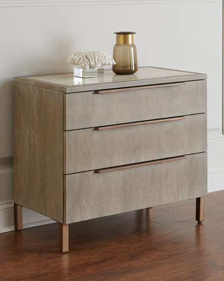 Hooker Furniture Ari Three-Drawer Night Stand