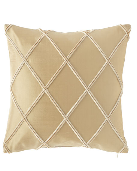 Austin Horn Classics Laurel Silk Pillow, 17