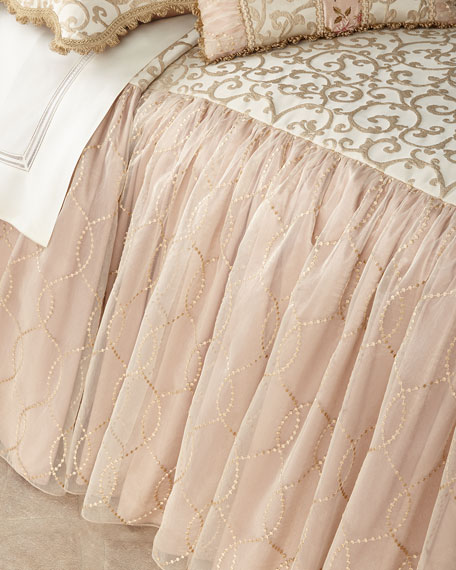 Chamonterie Queen Skirted Coverlet