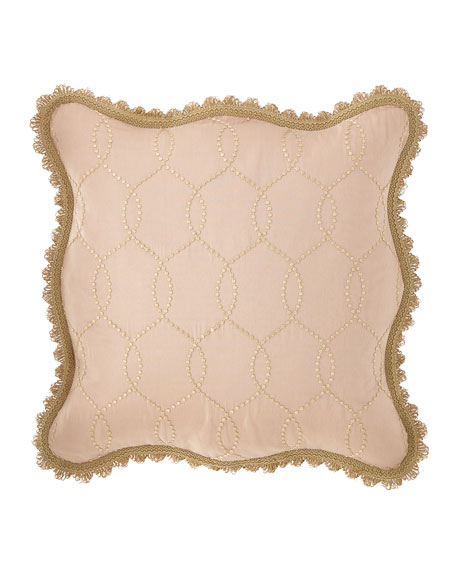 Chamonterie Embroidered European Sham
