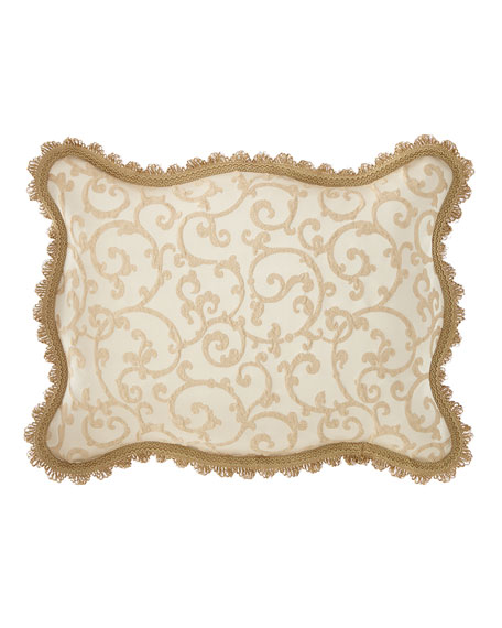 Chamonterie Scalloped King Sham