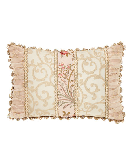Sweet Dreams Chamonterie Pieced Oblong Pillow