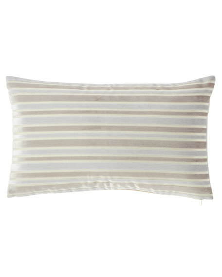 Le Monte Stripe Rectangular Pillow