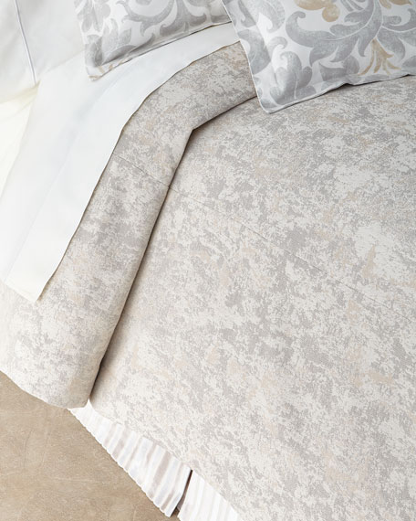 Jane Wilner Designs Le Monte Marble King Coverlet