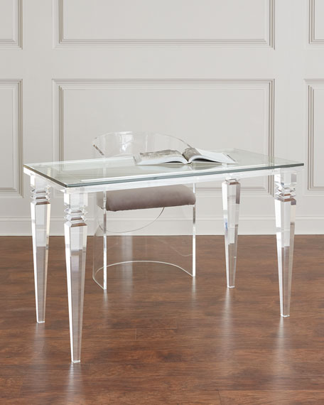 Christelle Acrylic Writing Desk