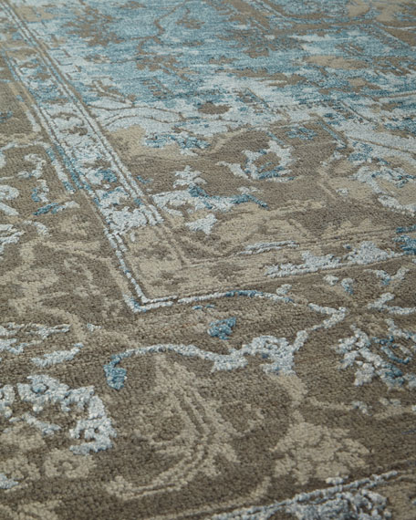 Oath Veil Hand-Knotted Rug, 8' x 10'