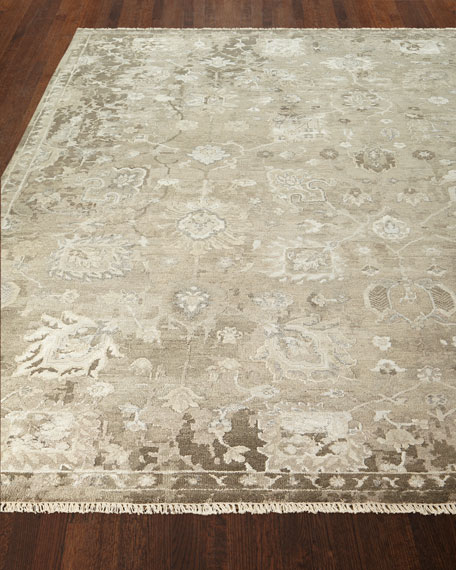 Hester Hand-Knotted Rug, 4' x 6'