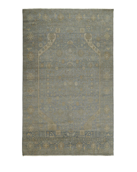 Cassiel Hand-Knotted Rug, 10' x 14'
