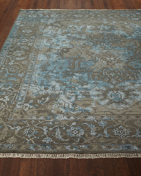 Oath Veil Hand-Knotted Rug, 6' x 9'