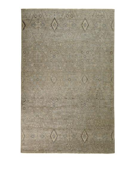Zuriel Hand-Knotted Rug, 9' x 12'