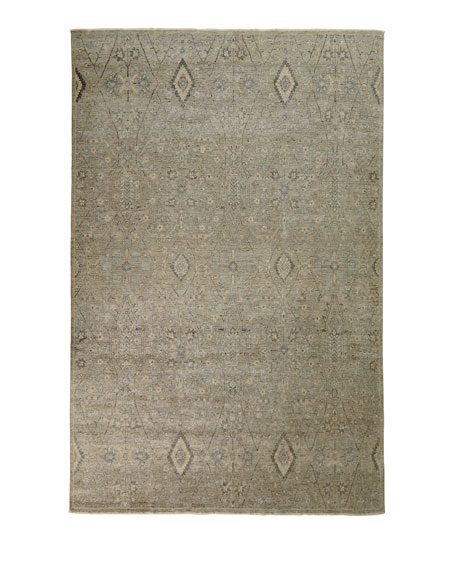 Zuriel Hand-Knotted Rug, 4' x 6'