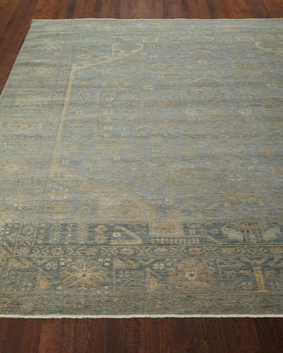 Cassiel Hand-Knotted Rug  4' x 6'