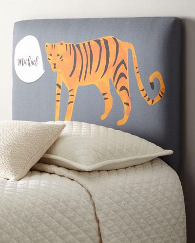 Tiger Full Headboard  Personalized