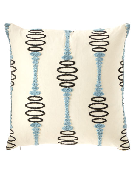 Pogo Embroidered Decorative Pillow