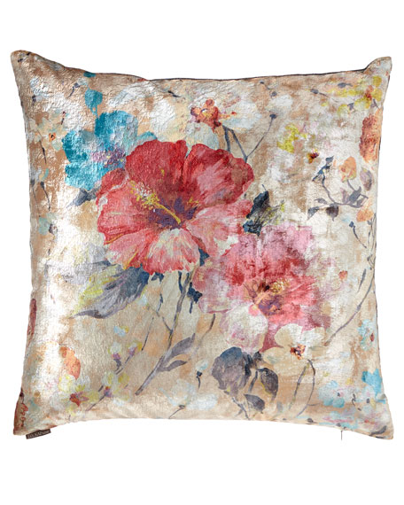 D.V. Kap Home Dazzling Rose Decorative Pillow