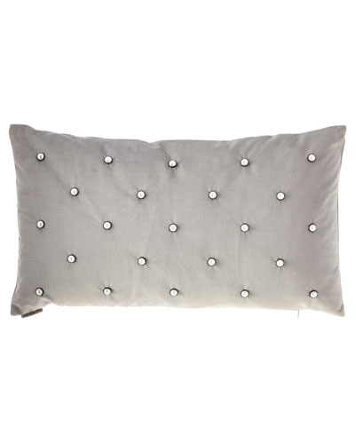 Pearlesque Glacier Lumbar Pillow