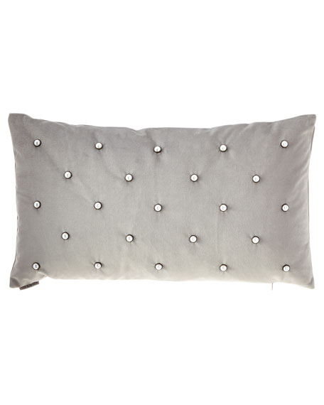 Pearlesque Glacier Lumbar Pillow