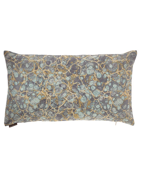 Terrazo Mist Bolster Pillow