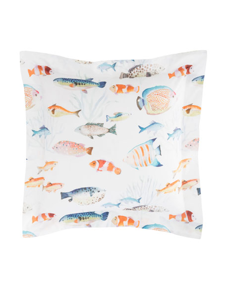 Happy Fish European Sham