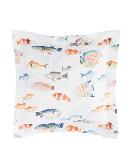 Happy Fish Standard Sham