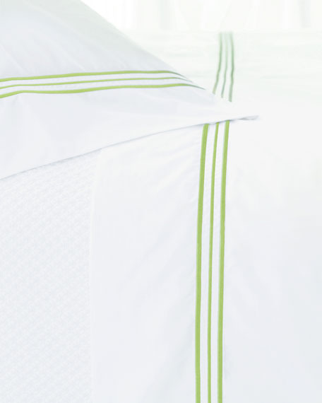 Pair of Trio King Pillowcases
