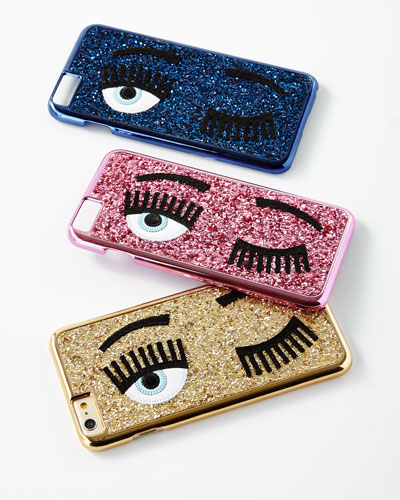 Winking Eye Glitter iPhone® 7 Case