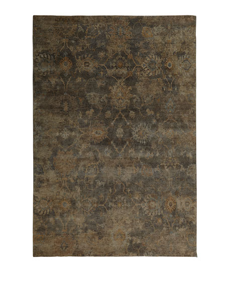 Avani Hand-Knotted Rug, 6' x 9'