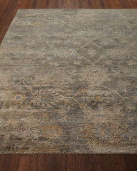 Avani Hand-Knotted Rug, 10' x 14'