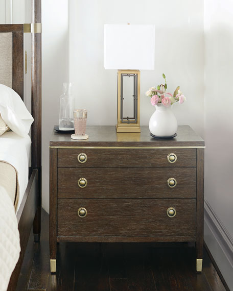Bernhardt Clarendon Wood-Front Night Stand