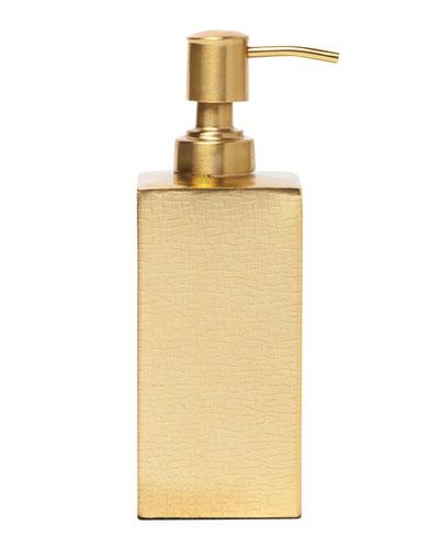 Tiset Soap Pump, Gold