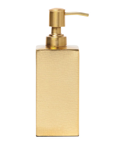 Tiset Soap Pump, Gold