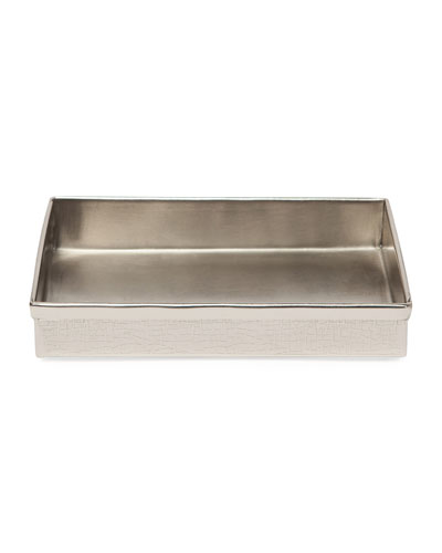 Tiset Soap Dish, Nickel