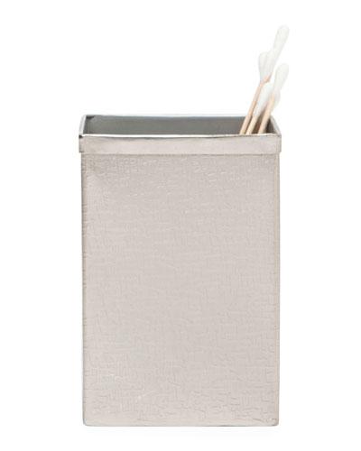 Tiset Brush Holder, Nickel