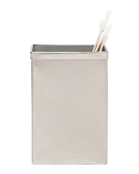 Tiset Brush Holder, Nickel