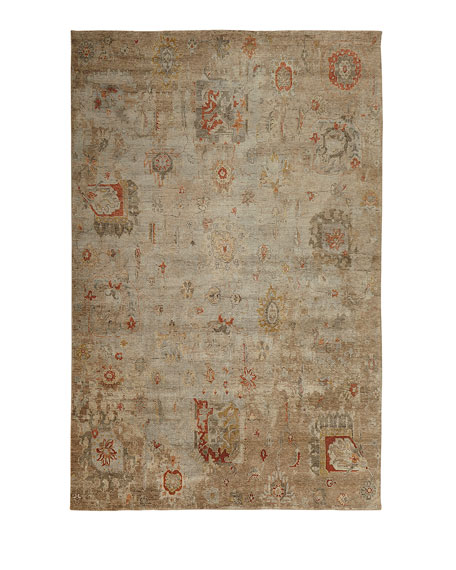 Barron Hand-Knotted Rug, 9' x 12'