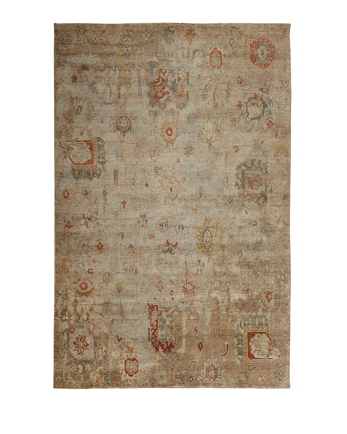 Barron Hand Knotted Rug 9 X 12