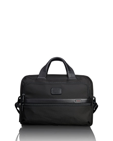Triple Compartment Briefcase